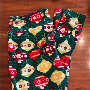 LuLaRoe Holiday Leggings - TC